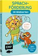 Cover-Bild zu Sprachförderung - 30 Bildkarten für Kinder im Kindergarten- und Vorschulalter von Pichler, Sandra
