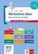 Cover-Bild zu Wortschatz üben: Interaktive Übungen und Spiele