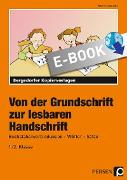 Cover-Bild zu Von der Grundschrift zur lesbaren Handschrift (eBook) von Jebautzke, Kirstin