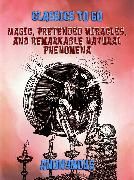 Cover-Bild zu Magic, Pretended Miracles, and Remarkable Natural Phenomena (eBook) von Anonymous