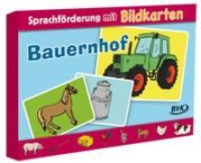 """Cover-Bild zu Sprachförderung mit Bildkarten """"Bauernhof"""" von Stedeler-Gabriel, Christiane"""