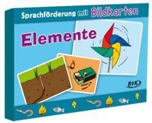 Cover-Bild zu Sprachförderung mit Bildkarten Elemente von Hoffmann, Natalie