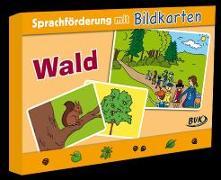 Cover-Bild zu Sprachförderung mit Bildkarten Wald von Hoffmann, Natalie