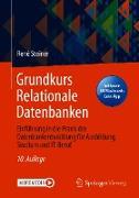 Cover-Bild zu Grundkurs Relationale Datenbanken (eBook) von Steiner, René