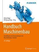 Cover-Bild zu Handbuch Maschinenbau (eBook) von Böge, Alfred (Hrsg.)