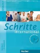 Cover-Bild zu Schritte international 5. Kursbuch + Arbeitsbuch mit Audio-CD zum Arbeitsbuch und interaktiven Übungen von Hilpert, Silke