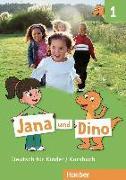 Cover-Bild zu Jana und Dino 1 / Kursbuch von Georgiakaki, Manuela