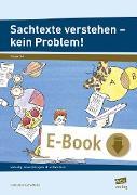 Cover-Bild zu Sachtexte verstehen - kein Problem! (eBook) von Neumann-Riedel, Ulrike