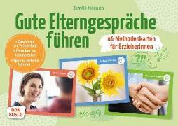 Cover-Bild zu Gute Elterngespräche führen - 44 Methodenkarten für Erzieherinnen von Münnich, Sibylle