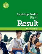 Cover-Bild zu Cambridge English: First Result: Student's Book von Davies, Paul
