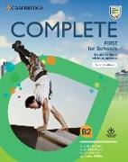Cover-Bild zu Complete First for Schools Student's Book without Answers with Online Practice von Brook-Hart, Guy