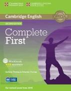 Cover-Bild zu Cambridge English. Complete First. Second Edition. Workbook with answers von Thomas, Barbara