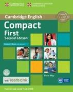 Cover-Bild zu Compact First. Second Edition. Student's Book with Answers with CD-ROM with Testbank von May, Peter