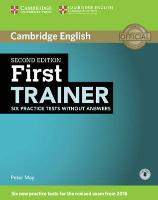 Cover-Bild zu First Trainer Six Practice Tests without Answers von May, Peter