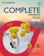 Cover-Bild zu Complete Preliminary Student's Book with Answers with Online Practice von May, Peter