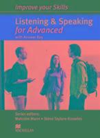 Cover-Bild zu Improve your Skills. Listening & Speaking for Advanced. Student's Book with Answer Key von Mann, Malcolm (Reihe Hrsg.)
