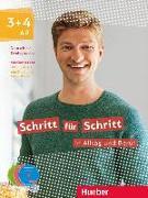 Cover-Bild zu Schritt für Schritt in Alltag und Beruf 3+4 / Medienpaket (DVD + CD) von Niebisch, Daniela