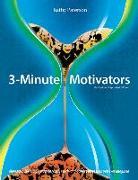Cover-Bild zu 3 Minute Motivators von Paterson, Kathy