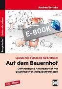 Cover-Bild zu Auf dem Bauernhof (eBook) von Behnke, Andrea