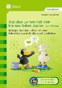 Cover-Bild zu Soziales Lernen mit dem kleinen Raben Socke 1+2 von Zerbe, Renate Maria