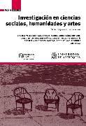 Cover-Bild zu Investigación en ciencias sociales, humanidades y artes (eBook) von Suárez, Carlo Emilio Piazzini
