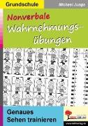 Cover-Bild zu Nonverbale Wahrnehmungsübungen (eBook) von Junga, Michael