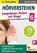 Cover-Bild zu Hörverstehen / Klasse 6 (eBook) von Junga, Michael