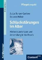 Cover-Bild zu Schluckstörungen im Alter von Burger-Gartner, Jutta