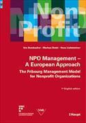 Cover-Bild zu NPO Management - A European Approach von Bumbacher, Urs