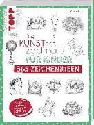 Cover-Bild zu Die Kunst des Zeichnens für Kinder 365 Zeichenideen von Keck, Gecko