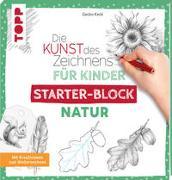 Cover-Bild zu Die Kunst des Zeichnens für Kinder Starter-Block - Natur von Keck, Gecko