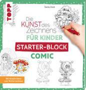 Cover-Bild zu Die Kunst des Zeichnens für Kinder Starter-Block - Comic von Keck, Gecko