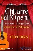 """Cover-Bild zu """"Chitarre all'Opera"""" - Chitarra 1 (eBook) von Verdi, Giuseppe"""