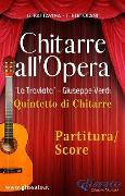 "Cover-Bild zu ""Chitarre all'Opera"" Quintetto di Chitarre (partitura) (eBook) von Verdi, Giuseppe"