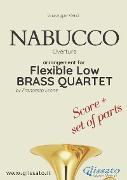 Cover-Bild zu Nabucco - Flexible Low Brass Quartet (score & parts) (eBook) von Verdi, Giuseppe