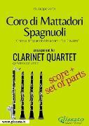 Cover-Bild zu Coro di Mattadori Spagnuoli - Clarinet Quartet score & parts (eBook) von Verdi, Giuseppe