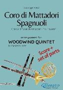Cover-Bild zu Coro di Mattadori Spagnuoli - Woodwind Quintet score & parts (eBook) von Verdi, Giuseppe
