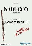 Cover-Bild zu Nabucco - Bassoon Quartet score & parts (eBook) von Verdi, Giuseppe