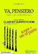 Cover-Bild zu Va, pensiero - Clarinet Quintet score & parts (eBook) von Verdi, Giuseppe