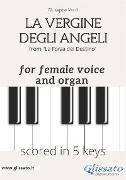 Cover-Bild zu La Vergine degli Angeli - female voice & organ (in 5 keys) (eBook) von Verdi, Giuseppe