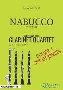 Cover-Bild zu Nabucco - Clarinet Quartet score & parts (eBook) von Verdi, Giuseppe