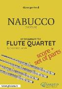Cover-Bild zu Nabucco - Flute Quartet score & parts (eBook) von Verdi, Giuseppe