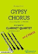 Cover-Bild zu Gypsy Chorus - Clarinet Quartet set of PARTS (eBook) von Verdi, Giuseppe