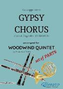 Cover-Bild zu Gypsy Chorus - Woodwind Quintet set of PARTS (eBook) von Verdi, Giuseppe