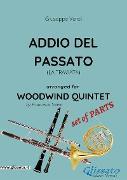 Cover-Bild zu Addio del passato - Woodwind Quintet set of PARTS (eBook) von Verdi, Giuseppe