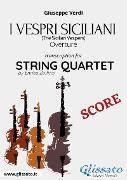 Cover-Bild zu I Vespri Siciliani (overture) String quartet score (eBook) von Verdi, Giuseppe