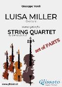 Cover-Bild zu Luisa Miller (overture) String Quartet - Set of parts (eBook) von Verdi, Giuseppe
