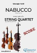 Cover-Bild zu Nabucco (overture) String Quartet - Score (eBook) von Verdi, Giuseppe