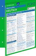 Cover-Bild zu PONS Deklination Deutsch auf einen Blick