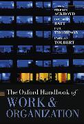 Cover-Bild zu The Oxford Handbook of Work and Organization von Ackroyd, Stephen (Hrsg.)